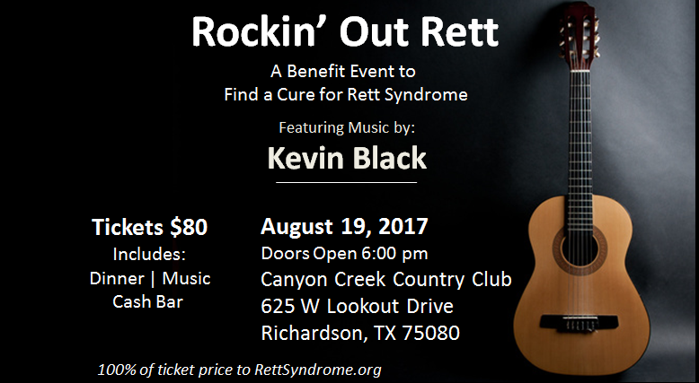 Rockin Out Rett | Benefit Event | Registration Open